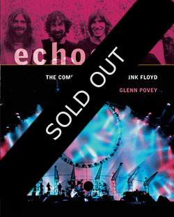 Pink Floyd Echoes - UK Edition Front Cover